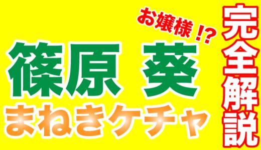 まねきケチャの篠原葵は経験無しでグループ加入!メンバーから愛される癒し系が飛躍のカギ!